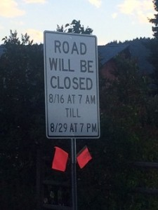 Beaver Hill Road closure